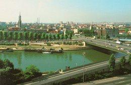 MAISONS ALFORT - Vue Sur La Seine Au Pont De Charenton - Maisons Alfort