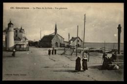 29 - Concarneau 187 - Place De La Croix Vue Générale Chapelle Pharebretonnes #04271 - Concarneau