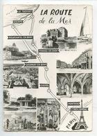 La Route De La Mer : Paris Ouen Pontoise Gisors Gournay Bray Foprges Eaux Neufchatel Bray Dieppe Tréport (RM 1° - Maps
