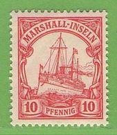 MiNr. 15 Xx  Deutschland Deutsche Kolonie Marshall-Insel - Kolonie: Marshall-Inseln