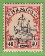 Nr. 13 Xx  Deutschland Deutsche Kolonie Samoa - Colony: Samoa