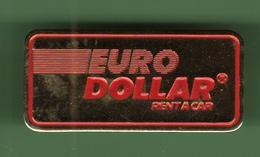 RENT A CAR *** EURO DOLLAR *** 0084 - Badges