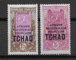 TCHAD - YVERT N°54A (RARE) +55 * MLH - COTE = 62 EUR. - Tschad (1922-1936)