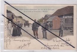 Frontiére Franco-Allemande ,au Col De La Schlucht (88)sur La Route De Gérardmer à Munster (carte Précurseur De 1903) - Frankreich