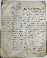 Acte Sur Parchemin, Rouen, 1790, 12 P. - Documentos Históricos