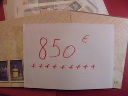 BELGIQUE +-850 EURO BELLE FACIALE MAJORITE EURO ENTRE 2000 ET 2006 - Belgium