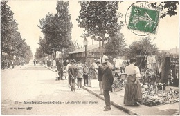 Dépt 93 - MONTREUIL - Le Marché Aux Puces - B.F. N° 24 - (brocante) - Montreuil