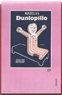 BUVARD  - MATELAS DUNLOPILLO - ILLUSTRATION -  PRODUCTION DUNLOP - Blotters