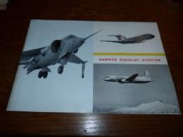 Document Présentation Hawker Siddeley Aviation  Militaire Buccaneer P.1127 Vulcan Red Top Etc Etc - Luchtvaart