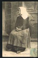 Vieille Femme Des Environs De CHATEAULIN-29-  CMCB N° 428- 1905 - Recto Verso - Paypal Sans Frais - Châteaulin