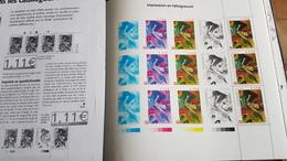 Feuillet Des 3 Timbres Kandinsky Provenant Du Livre - Sheetlets