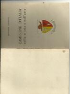 CAMPIONE D'ITALIA --  GIOVANNI CENZATO--  NELLA  STORIA  DELL' ARTE 1968-- GRAFICA  COMO - Books, Magazines, Comics