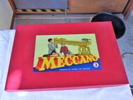Meccano Boite N° 3 Avec Son Manuel Jeu De Constructio Neuf - Toy Memorabilia