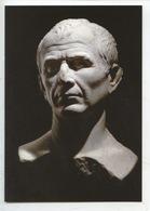 Jules César : Buste Marbre 1ier S. Av JC - 20 Ans De Fouilles à Arles Le Rhône Pour Mémoire (cp Vierge) - Familias Reales