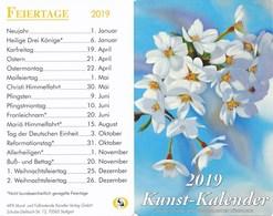 Stuttgart Kunstkalender 2019 MFK Künstler Verlag - Kalender