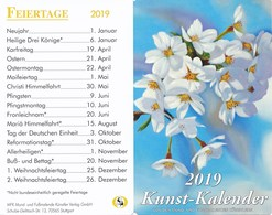 Stuttgart Kunstkalender 2019 MFK Künstler Verlag - Calendriers