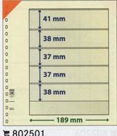 Paquet De 10 Feuilles Neutres Lindner T  Réf. 802501  à Moins 50 % - Albums & Reliures