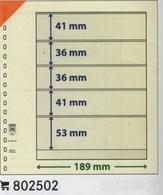 Paquet De 10 Feuilles Neutres Lindner T  Réf. 802502  à Moins 50 % - A Nastro