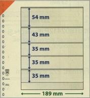 Paquet De 10 Feuilles Neutres Lindner T Réf. 802503  à Moins 50 % - Alben & Binder