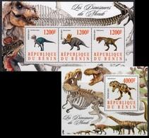 Dinosaurs Dinosaures Dinosaurier Prehistoric Animals Benin [#15111] - Prehistorics