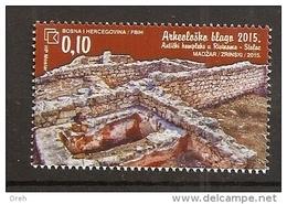 BOSNIA AND HERZEGOVINA 2015,POST MOSTAR,ARHEOLOGY,ANTIC STOLAC,MNH - Archaeology