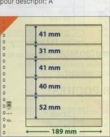 Paquet De 10 Feuilles Neutres Lindner T Réf. 802504  à Moins 50 % - Alben & Binder