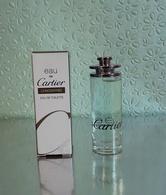 """Miniature  """"EAU De CARTIER CONCENTREE """"de CARTIER  Eau De Toilette 5 Ml Dans Sa  Boite (M076) - Miniatures Men's Fragrances (in Box)"""