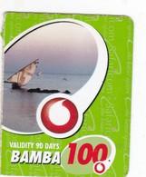 Kenya, Bamba 100, Special / Small Card, Boat, 2 Scans.    Expiry : 07-03-2011. - Kenya