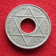 Nigeria British West Africa 1/10 Penny 1908 Km# 1 Afrique  Penny - Nigeria