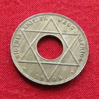 Nigeria British West Africa 1/10 Penny 1908 Km# 3 Afrique  Penny - Nigeria