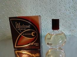 """Miniature  """"MADAME"""" De CARVEN Eau De Toilette 5 Ml Dans Sa Boite (M076-2) - Miniatures Womens' Fragrances (in Box)"""