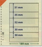 Paquet De 10 Feuilles Neutres Lindner T  Réf. 802507  à Moins 50 % - Albums & Reliures