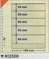 Feuilles Neutres Lindner T à L'unité  Réf. 802508  à Moins 50 % - A Nastro