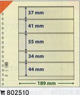 Paquet De 10 Feuilles Neutres Lindner T   Réf. 802510  à Moins 50 % - Alben & Binder