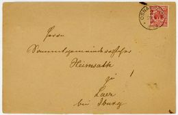 """""""OSNABRÜCK 2"""" K 1g 1892 über Rothenfelde Nach Laer - Deutschland"""