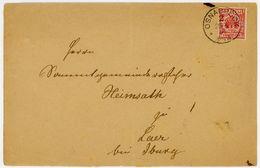 """OSNABRÜCK 2"" K 1g 1892 über Rothenfelde Nach Laer - Briefe U. Dokumente"