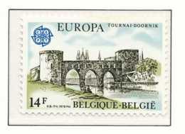 [151699][1892] Belgique 1978, EUROPA-CEPT, Architecture, Le Pont Des Trous à Tournai, SNC - Bridges