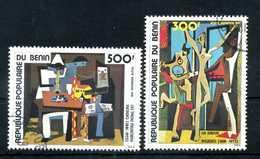 1981 BENIN SET USATO PA 298/299 - Benin – Dahomey (1960-...)