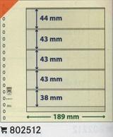 Paquet De 10 Feuilles Neutres Lindner T Réf. 802512  à Moins 50 % - A Bandes