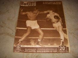 BUT Et CLUB 210 28.11.1949 BOXE GAVILAN DAUTHUILLE BASKET VILLEURBANNE RUGBY - Sport