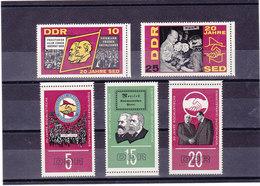RDA 1966  SED Yvert 870-874 NEUF** MNH - [6] République Démocratique