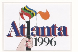 Maldives 1996   Olympic Games In Atlanta  Souvenir Sheet   MNH/**       (M33) - Ete 1996: Atlanta