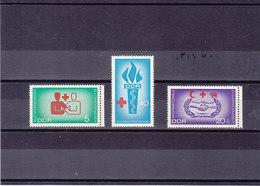 RDA 1966 DON DU SANG  Yvert 900-902 NEUF** MNH - [6] République Démocratique