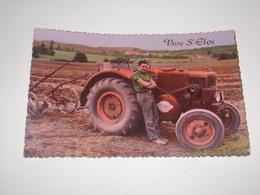 Tracteur Société Francaise Vierzon.Vive St Eloi.Format Cpa. - Traktoren