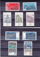 RDA 1966 Yvert 918-919 + 926-932 NEUF** MNH - [6] République Démocratique