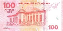 Vietnam P.125   100  Dong 2016  Unc - Vietnam