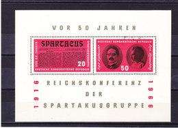 RDA 1966 SPARTAKUS Yvert BF 20 NEUF** MNH - [6] République Démocratique