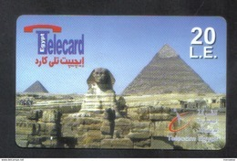EGYPT RARE USED PHONECARD - Egypt