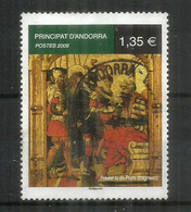 Tableau De L'Ermitage De Sant Miquel De Prats, Un Timbre Oblitéré,  1 ère Qualité, Haute Faciale - Used Stamps