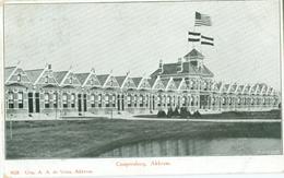 Akkrum 1913; Coopersburg (met Amerikaanse Vlag) - Gelopen. (A.A. De Vries - Akkrum) - Other